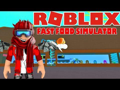 ALLE JOBS I HELE SPILLET!? Fast Food Simulator