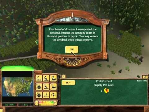 Let's Play Railroad Tycoon 3- Coast to Coast Part 1 Right, Start again