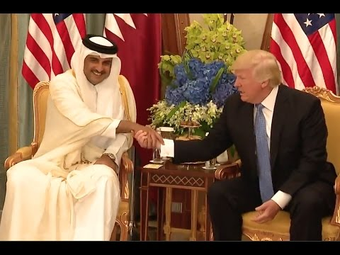 "Trump Pitches ""Lots Of Beautiful Military Equipment"" To  Emir of Qatar"