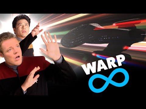 INSANE Warp Speeds Compared Transwarp, Slipstream, Spore Drive, etc