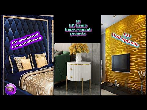 ❣️10 DIY HOME IMPROVEMENTS | HOME DECORATING IDEAS | FASHION PIXIES