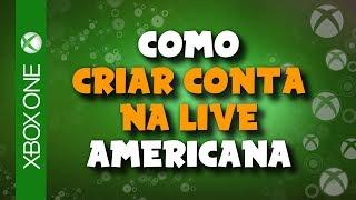 XBOX ONE - Como criar CONTA na XBOX LIVE AMERICANA