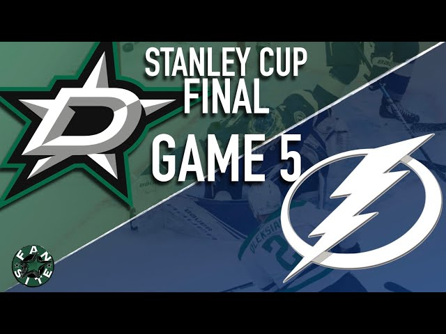 Dallas Stars vs Tampa Bay Lightning | 2020 Stanley Cup Playoffs Final, Game 5
