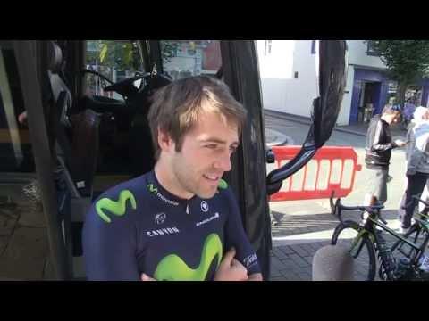 Aviva Tour of Britain 2015 - Interview with Alex Dowsett (MOVISTAR)