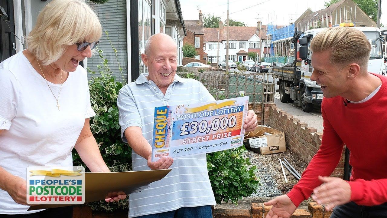 Postcode lottery prizes using this secret