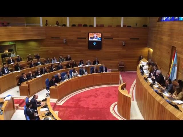 Aprobados los presupuestos gallegos en el 36 aniversario del Parlamento