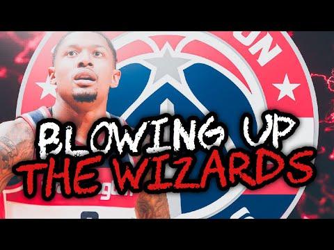 BLOWING IT UP! WASHINGTON WIZARDS REBUILD! NBA 2K19