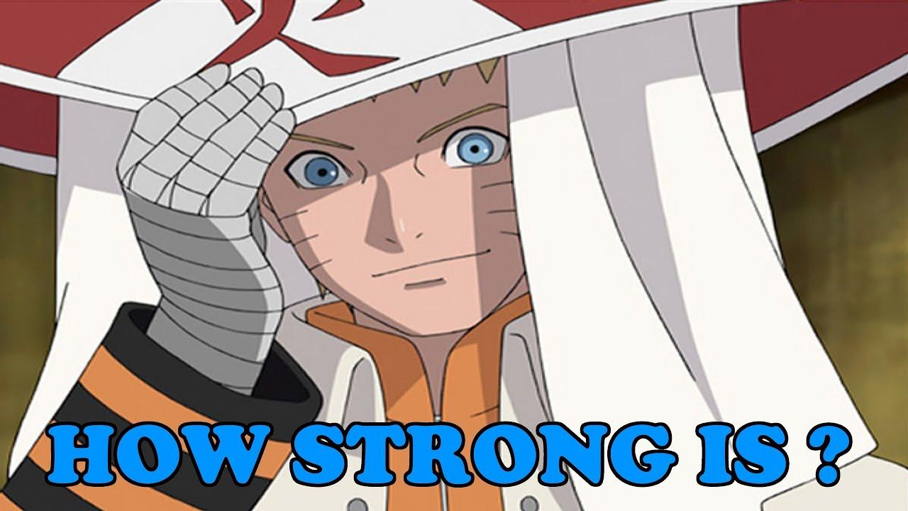 how strong is seventh hokage naruto uzumaki � youtube