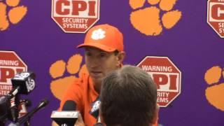 TigerNet.com - Dabo Swinney postgame press conf after win at Auburn - 9.3.2016