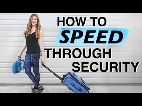 Security Line Hack: How to Pick The Fastest Line Every Time - Travel Tip