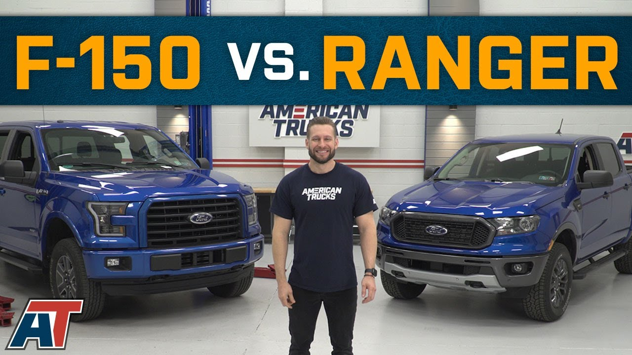Ford Ranger Vs F150 How Does The Ford Ranger Compare To The F150