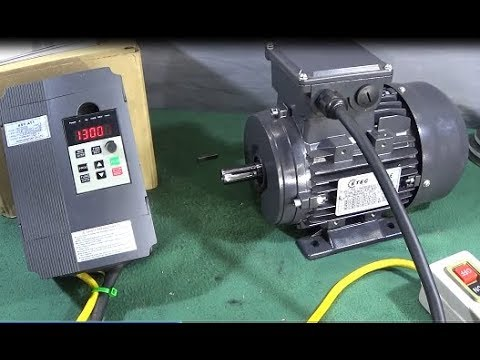 wiring 3 phase motor to vfd xsy at1 vfd   3 phase motor bench test review mini lathe   myford  xsy at1 vfd   3 phase motor bench test