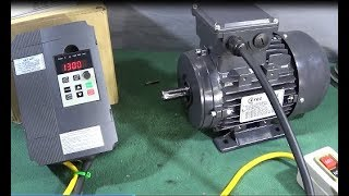XSY-AT1 VFD & 3 Phase Motor Bench Test Review Mini Lathe & Myford..