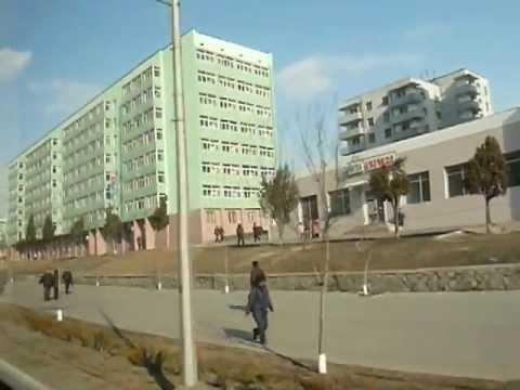 Pyongyang street scene