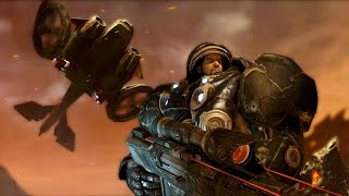 Gates of Hell: Jim Raynor and Dominion Forces Begin the Invasion on Char (Starcraft 2)