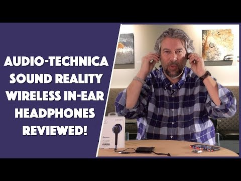 Audio-Technica ATH-CKR35BT Wireless In Ear Headphones -- REVIEWED