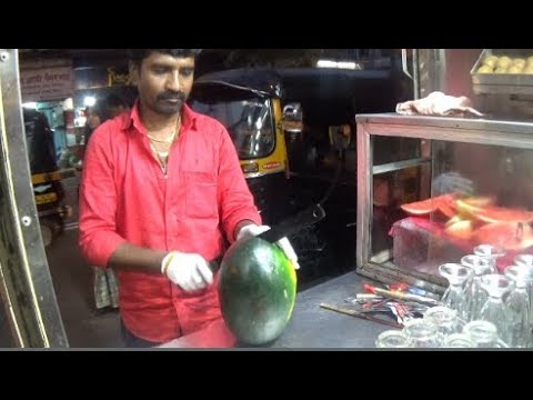 Fruit Ninja Of India (Ep. 2) | Amazing Fruit Cutting Skill, Mumbai | Street Foods Of India Mumbai