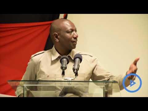 Take your children to school - DP Ruto tells Pastoralists