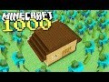 1000 MUTANT ZOMBIES Vs 1 HOUSE In Minecraft mp3
