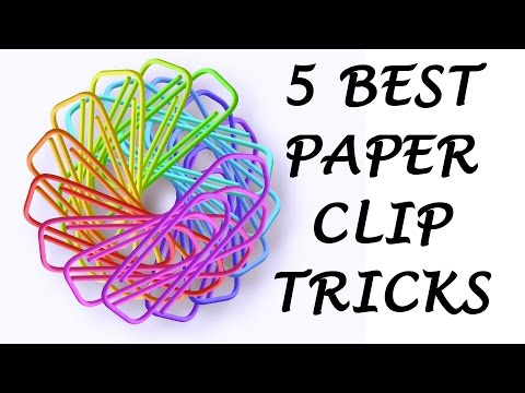 5 Awesome Life Hacks with Paper Clips