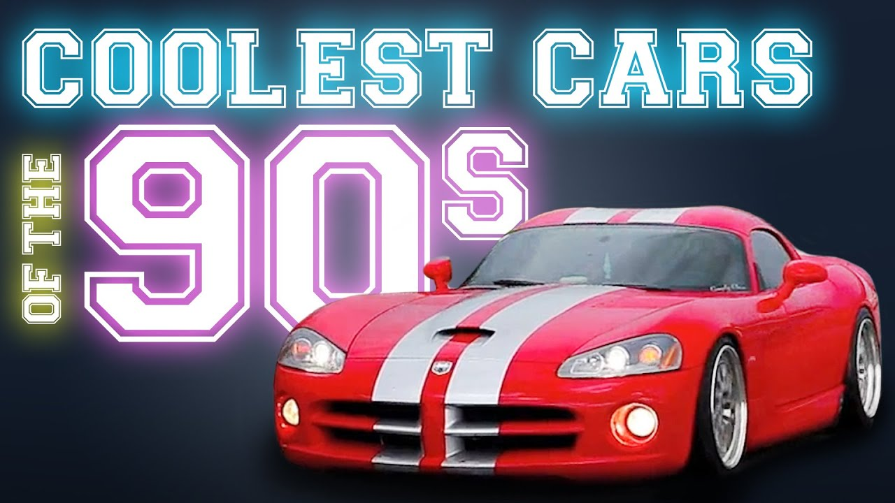 Coolest Cars Of The S YouTube - Cool cars 1990s