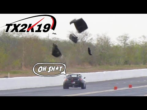 Honda 'Supra BLOWS roof into PIECES! | TX2K19 Day 1