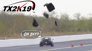 "Honda ""Supra"" BLOWS roof into PIECES! 