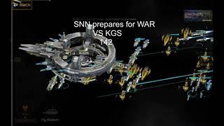 Nova Empire Galaxy 142 - WAR (SNN) vs (KGS) Война начинается!