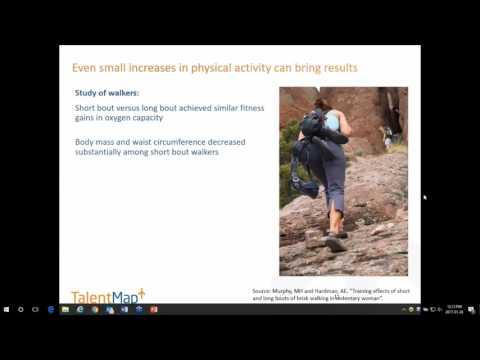 Health, Wellness, & Employee Engagement Webinar by TalentMap
