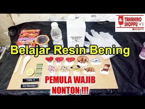 BELAJAR MEMBUAT RESIN BENING LYCAL 1011 / LEM BENING