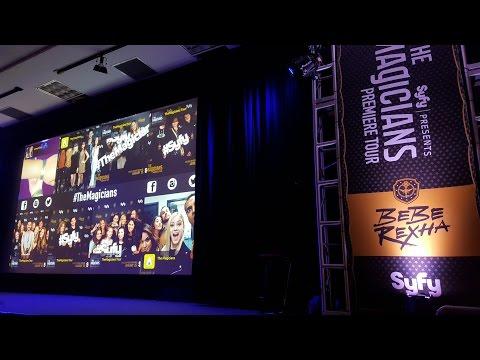 Bebe Rexha at The Magicians show Premiere-U of A