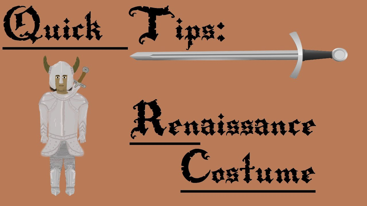 Quick tips cheap renaissance costume youtube quick tips cheap renaissance costume solutioingenieria Gallery