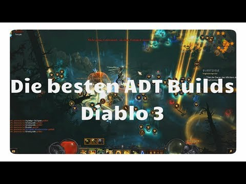 Diablo 3: Die besten ADT Builds (Qual 16, Season 17) - Youtube Video