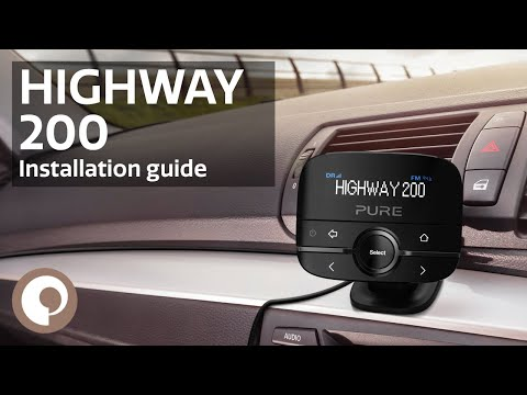 Pure Highway 200 - Installation Guide