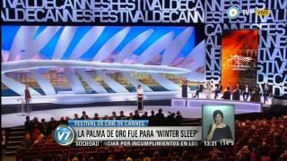 """Visión 7 - Festival de Cannes: Palma de Oro para """"Winter Sleep"""""""