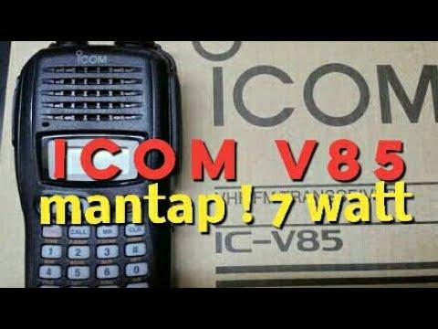 HT Icom v85 - fm transceiver ic-v85 #icom #icomv85 #icomjapan #handytalkie