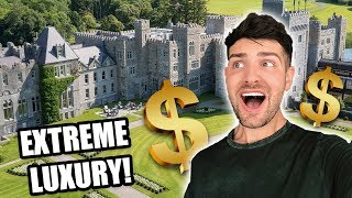 I Stayed at a $100 Million Dollar Castle! | Mister Preda