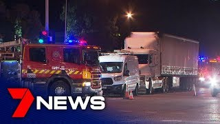 Truck driver apologises after seven-car freeway crash | Adelaide
