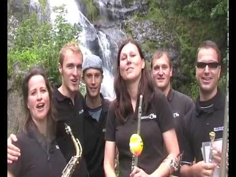 Coldwater Challenge Musikverein Au / Freiburg Part 1 Wasserfall
