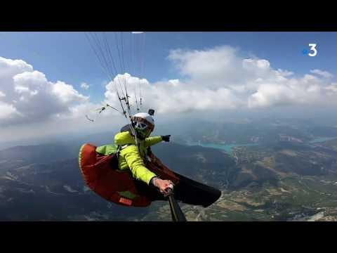 VIDEO. En marchant, volant et pédalant, il traverse les Alpes sans émission de CO2 de la Méditerranée à l'Autriche - - France 3 Auvergne-Rhône-Alpes