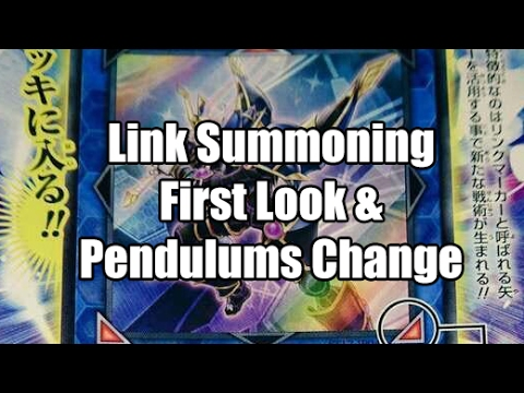 Link Summoning First Look & Changes To Pendulums