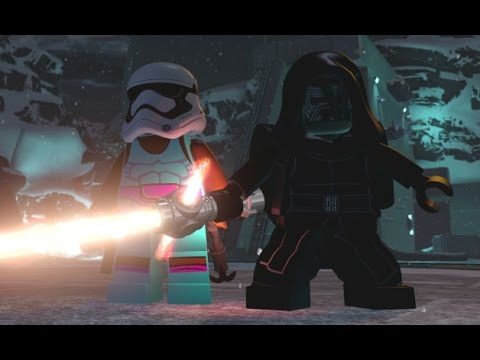 LEGO Star Wars: The Force Awakens - Starkiller Base 100% Guide - All Collectibles