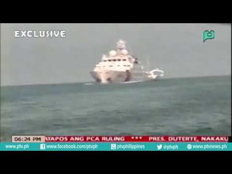 Chinese Coast Guard, mas naghigpit sa mga mangingisdang Pinoy patapos ang PCA ruling [07|20|16]