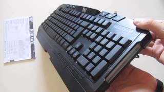 unboxing teclado pro gaming b move n8hawk espaol