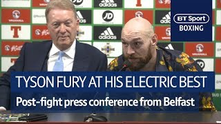 """I'm going to America to beat Wilder!"" 