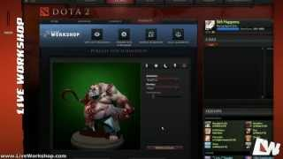 DOTA2 Tutorial - Setup, Rig, Compile and Publish your item for the Steam Workshop, step by step!
