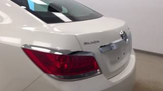White Used 2010 Buick LaCrosse CXL-One Owner, Heated Leather,Remote Start CXL-One Owner, Heated Leat