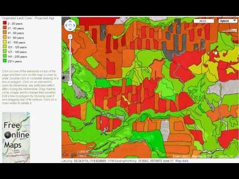 geokov web map service overlays youtube