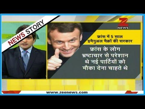 DNA: Emmanuel Macron elected as next president of France