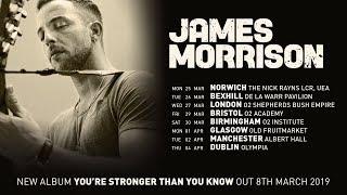 JAMES MORRISON - March/April 2019 Tour